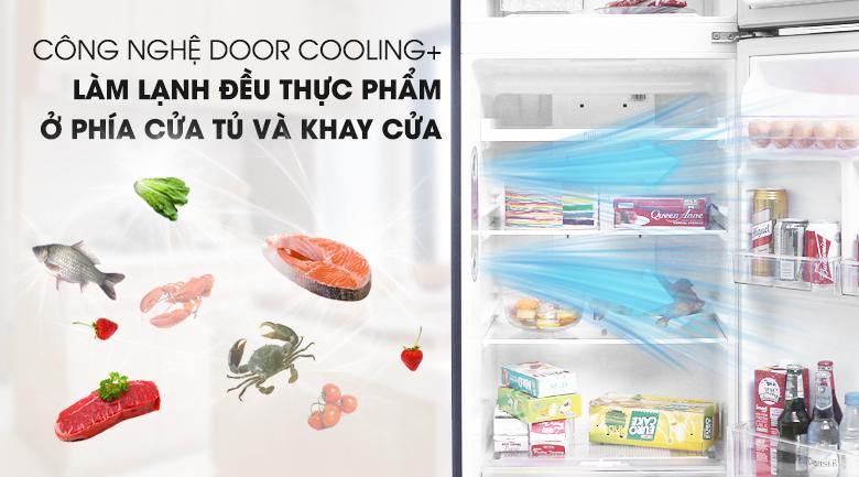 Công nghệ Door Cooling+ duy trì nhiệt độ tốt hơn - Tủ lạnh LG Inverter 315 lít GN-L315PN