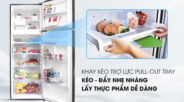 Khay chứa thiết kế linh hoạt, tiện lợi - Tủ lạnh LG Inverter 315 lít GN-L315PN