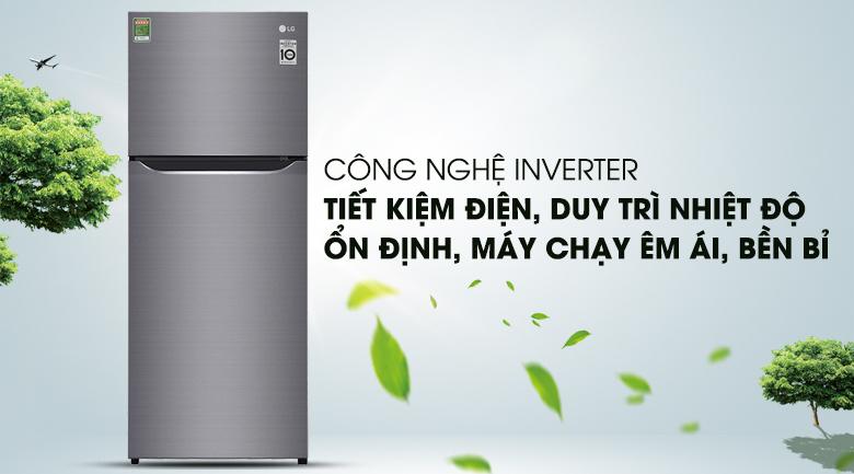 Công nghệ biến tần Inverter - Tủ lạnh LG Inverter 187 lít GN-L205S