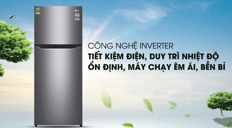 Tiết kiệm hiệu quả chi phí điện cho gia đình - Tủ lạnh LG Inverter 209 lít GN-L225S