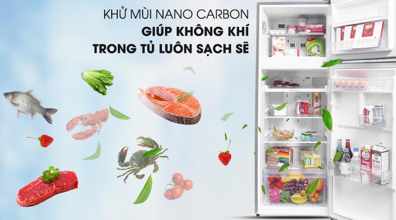 Tủ lạnh LG Inverter 209 lít GN-L225S - Nano Carbon