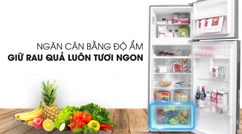 Bảo quản rau củ tươi ngon trong thời gian dài - Tủ lạnh LG Inverter 209 lít GN-L225S