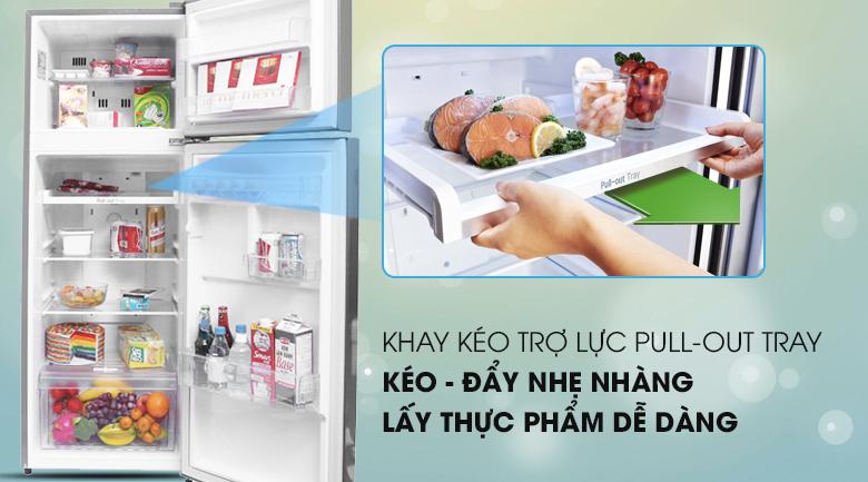 Tủ lạnh LG Inverter 209 lít GN-L225S - Khay trợ lực