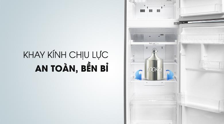 Tủ lạnh LG Inverter 209 lít GN-L225S - kính chịu lực