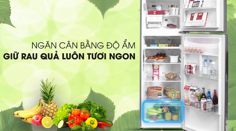 Ngăn trữ cân bằng độ ẩm - Tủ lạnh LG Inverter 255 lít GN-L255PS