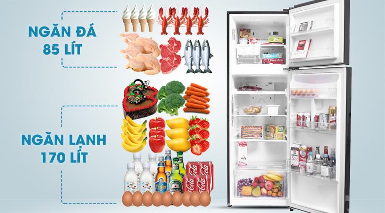 Thiết kế tủ lạnh LG GN-L255PN - Tủ lạnh LG Inverter 255 lít GN-L255PN