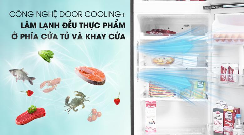 Công nghệ làm lạnh Door Cooling+ - Tủ lạnh LG Inverter 255 lít GN-L255PN