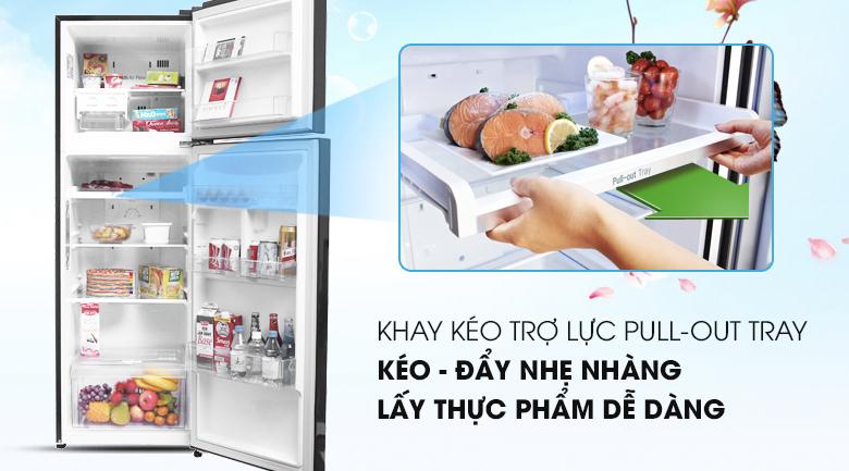 Khay kéo- Tủ lạnh LG Inverter 255 lít GN-L255PN