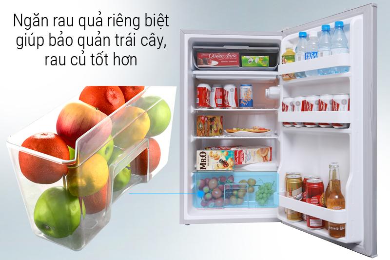 Ngăn rau quả - Tủ lạnh Midea 93 lít HS-122SN