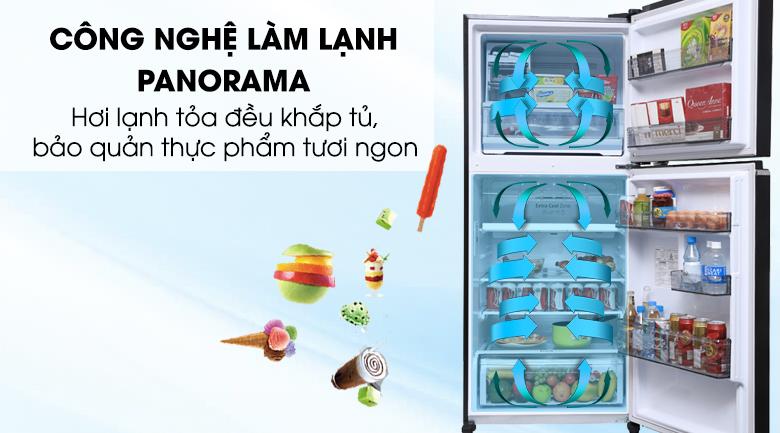 Tủ lạnh Panasonic Inverter 363 lít NR-BD418GKVN - Panorama