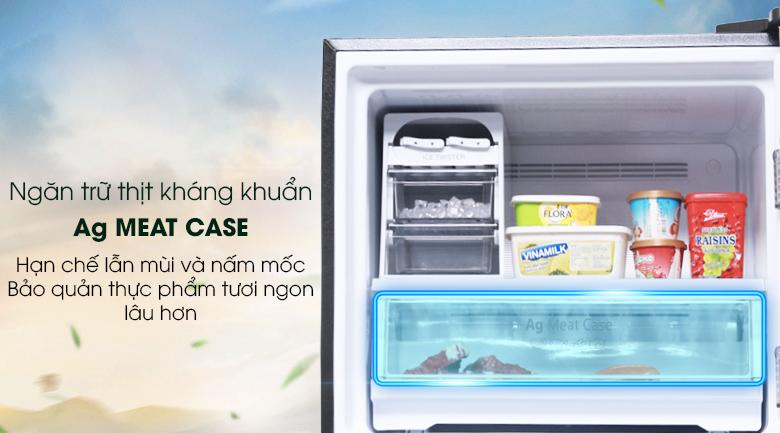 Tủ lạnh Panasonic Inverter 363 lít NR-BD418GKVN - Ag Meat
