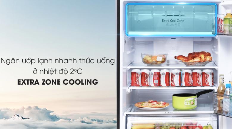 Tủ lạnh Panasonic Inverter 363 lít NR-BD418GKVN - Extra Cool Zone