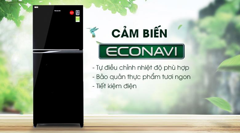 Cảm biến Eco - Tủ lạnh Panasonic Inverter 363 lít NR-BD418GKVN
