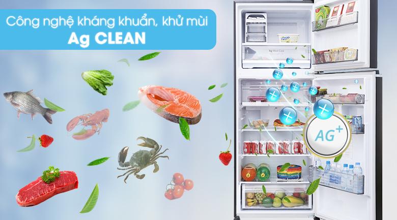 Công nghệ Ag Clean loại bỏ vi khuẩn gây mùi - Tủ lạnh Panasonic Inverter 405 lít NR-BD468GKVN