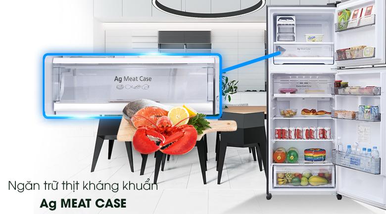 Ag Meat - Tủ lạnh Panasonic Inverter 405 lít NR-BD468GKVN