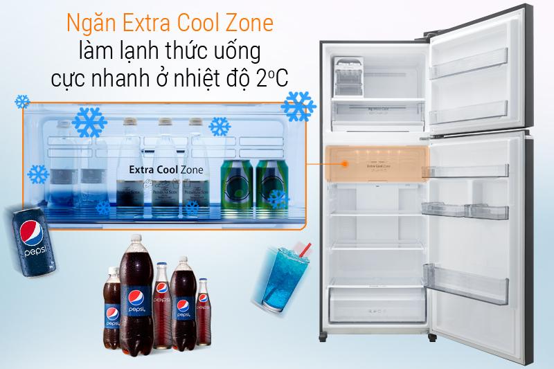 Ngăn Extra Cool Zone ướp lạnh