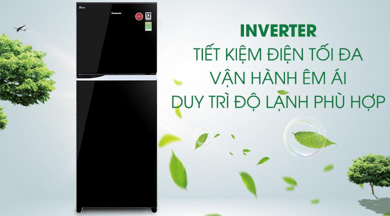 Công nghệ Inverter - Tủ lạnh Panasonic Inverter 405 lít NR-BD468GKVN