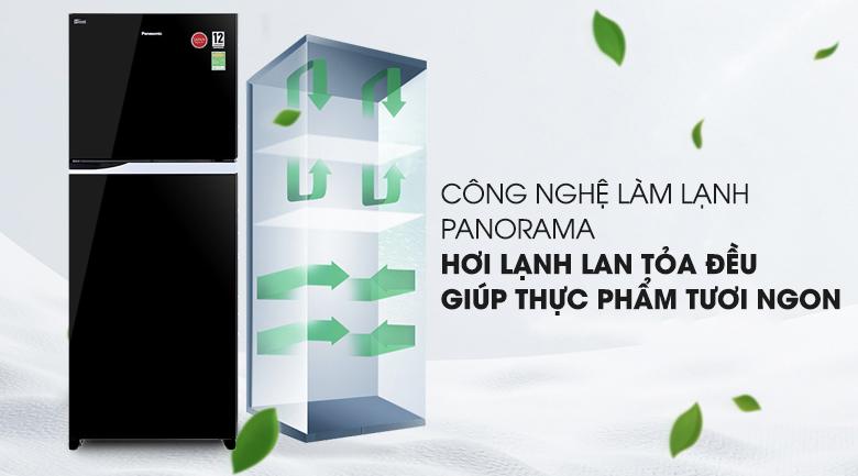 Công nghệ làm lạnh Panorama - Tủ lạnh Panasonic Inverter 405 lít NR-BD468GKVN