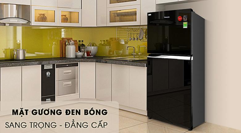 Thiết kế hiện đại - Tủ lạnh Panasonic Inverter 405 lít NR-BD468GKVN