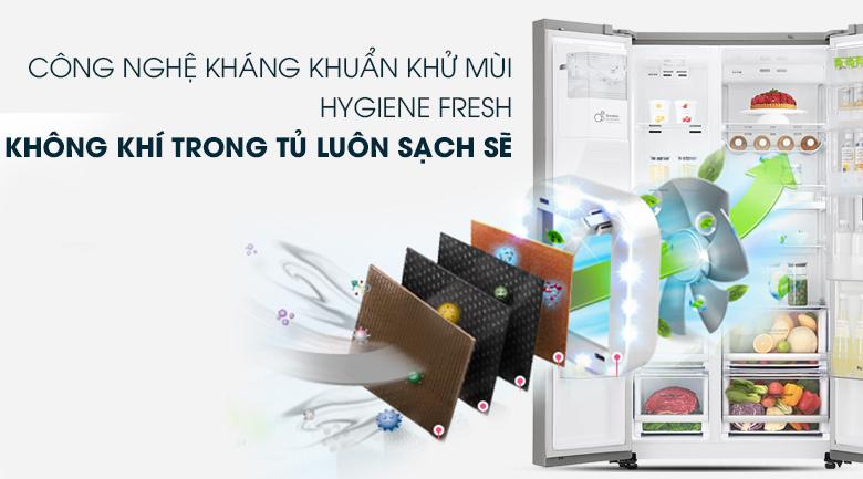 Bộ lọc kháng khuẩn Hygiene Fresh+  Tủ lạnh LG Inverter InstaView Door-in-Door 601 lít GR-X247JS