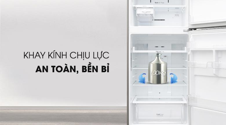Kính chịu lực - Tủ lạnh LG Inverter 393 lít GN-L422PS