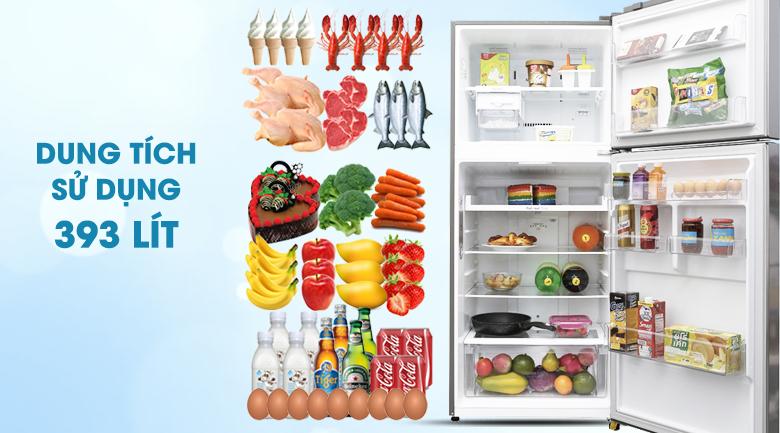 Dung tích - Tủ lạnh LG Inverter 393 lít GN-L422PS