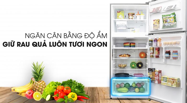 Ngăn rau củ - Tủ lạnh LG Inverter 393 lít GN-L422PS