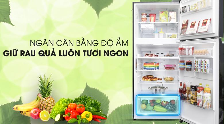 Ngăn cân bằng độ ẩm với mắt cáo độc quyền LG - Tủ lạnh LG Inverter 393 lít GN-L422GB