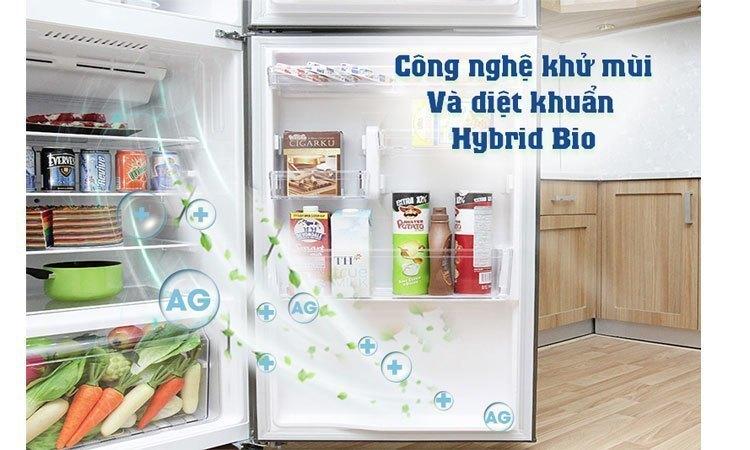 Kháng khuẩn, khử mùi hiệu quả với Hybrid Bio