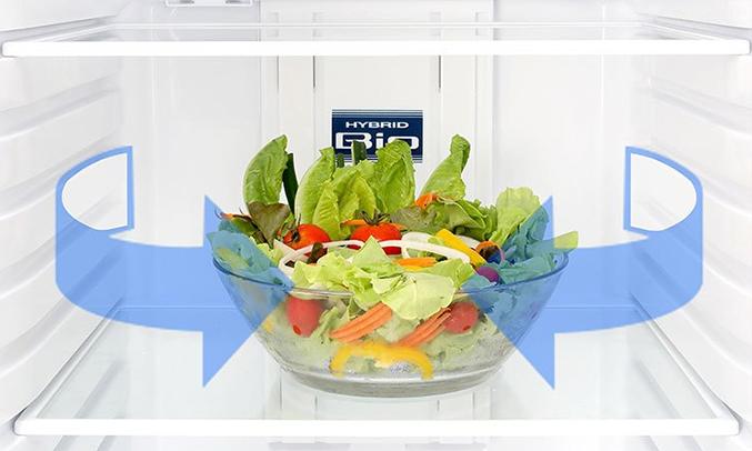 Khử mùi hôi tủ lạnh với Hybrid Bio