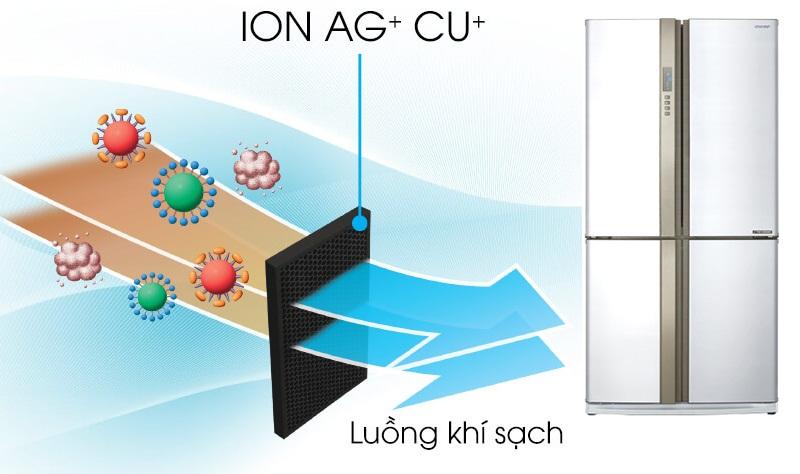 Bộ khử mùi Nano bạc đồng lọc sạch vi khuẩn mùi hôi