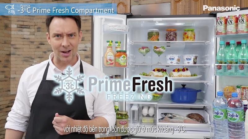 Thực phẩm luôn trọn vẹn vị ngon với ngăn cấp đông mềm PrimeFresh
