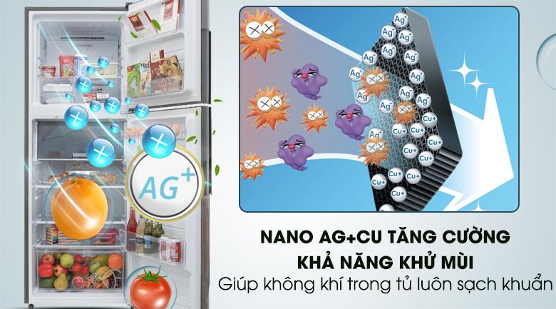 Bộ lọc Nano Ag+ Cu - Tủ lạnh Sharp Inverter 314 lít SJ-X316E-DS