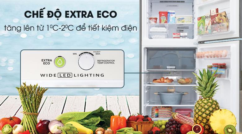 Chế độ Extra Eco - Tủ lạnh Sharp Inverter 314 lít SJ-X316E-DS