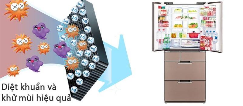 Khử mùi hôi thực phẩm hiệu quả với Nano bạc Ag+