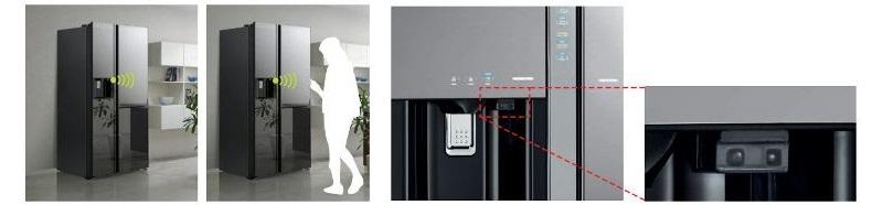   Cảm nhận được có con người ở gần tủ lạnh