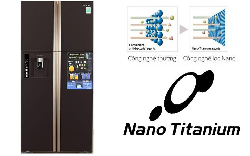 Khử sạch mùi hôi thực phẩm và vi khuẩn gây hại với màng lọc Nano Titanium