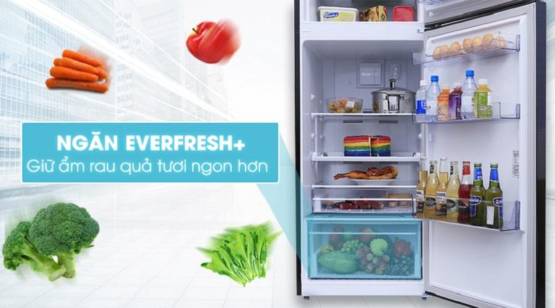 Tiện lợi với ngăn bảo quản rau củ EverFresh - Tủ lạnh Beko inverter 360 lít RDNT360E50VZWB