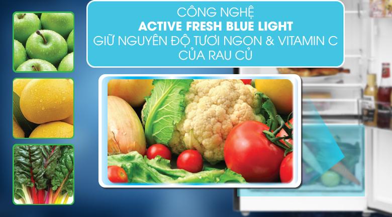 Công nghệ Active Fresh Blue Light giúp thực phẩm luôn được tươi ngon - Tủ lạnh Beko Inverter 270 lít RDNT270I50VWB