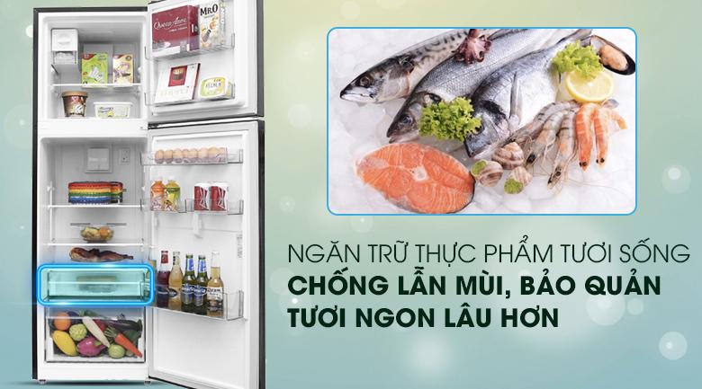 Ngăn bảo quản thực phẩm tươi sống tiện lợi - Tủ lạnh Beko Inverter 270 lít RDNT270I50VWB