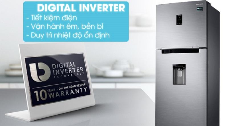 Vận hành tốt hơn với công nghệ Digital Inverter - Tủ lạnh Samsung Inverter 360 lít RT35K5982S8/SV