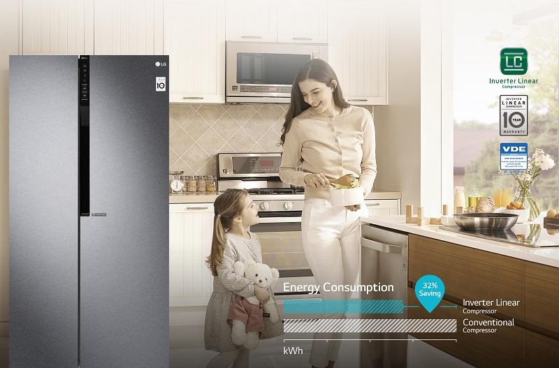 Công nghệ Inverter vận hành êm ái, tiết kiệm điện năng hiệu quả.
