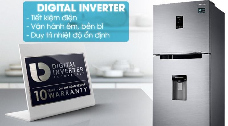 Tích hợp công nghệ Digital Inverter hiện đại - Tủ lạnh Samsung Inverter 319 lít RT32K5932S8/SV