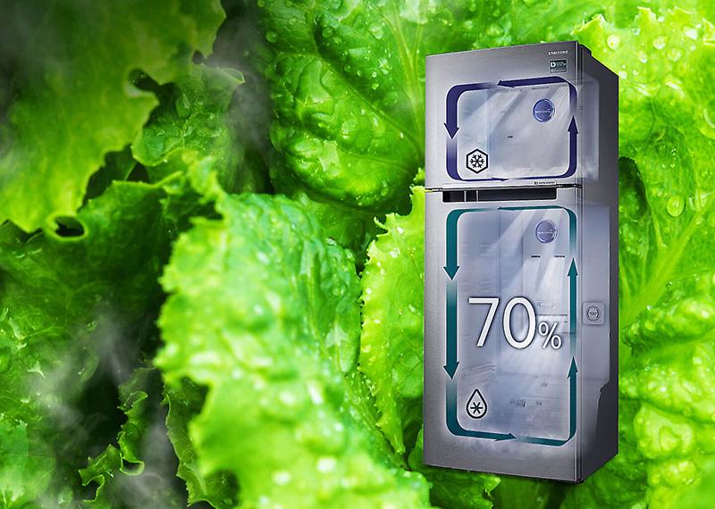 Công nghệ Twin Cooling Flus giữ ẩm vượt trội