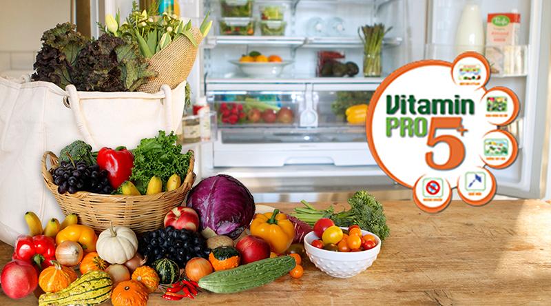 Chức năng cung cấp Vitamin Pro5+