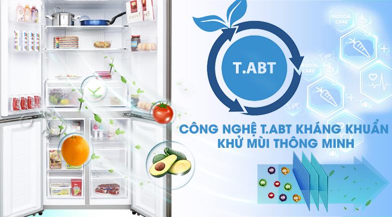 Công nghệ T.ABT - Tủ lạnh Aqua Inverter 516 lít AQR-IG525AM GB