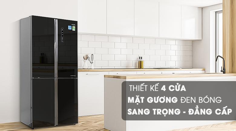 Thiết kế - Tủ lạnh Aqua Inverter 456 lít AQR-IG525AM
