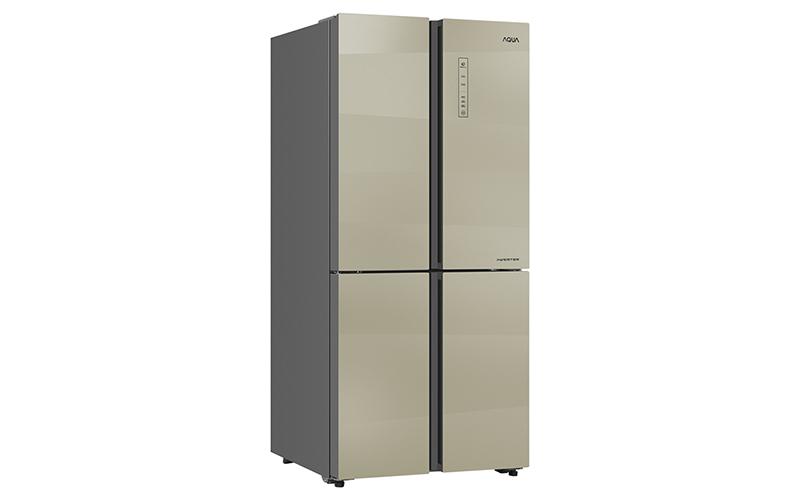 Tủ lạnh Aqua Inverter 516 lít AQR-IG525AM SG
