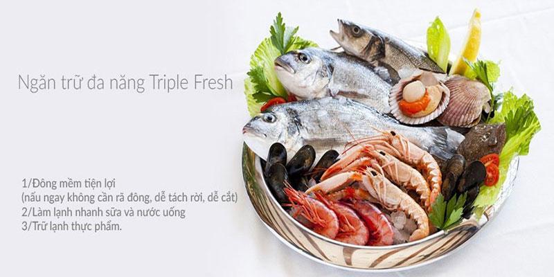 Ngăn trữ đa năng Triple Fresh