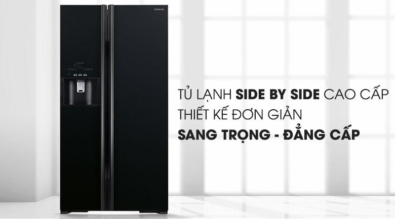 Tủ lạnh Hitachi Inverter 589 lít R-S700GPGV2 (GBK)